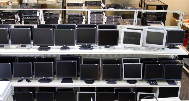 Rabljeni LCD zasloni