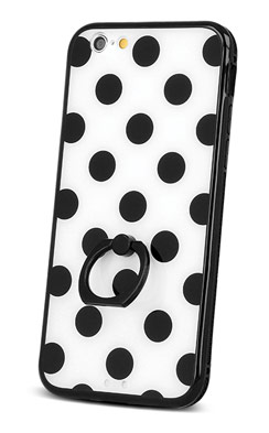 Ovitek za iPhone - Dots Ring Case